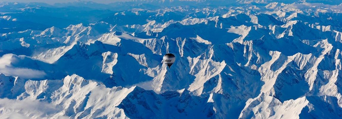 Alpenüberquerung im Ballon nach Italien