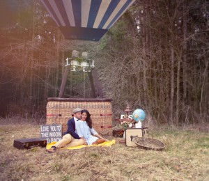 Ballonfahrt für Zwei